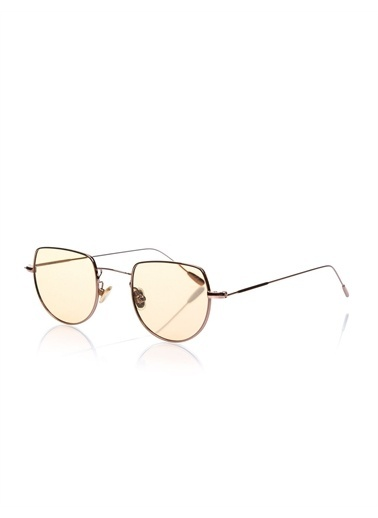 Optoline Opc 17051 06 Oval  Gövde Polarize Cam Kadın Güneş Gözlüğü Kahve